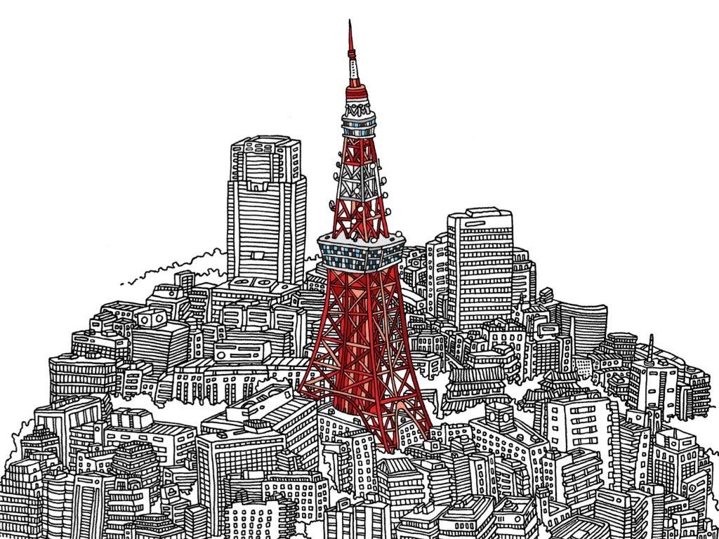 Tokyo Drawing